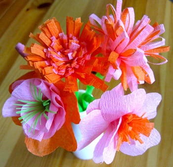20 diy crepe paper flowers with tutorials guide patterns for Easy handmade flowers