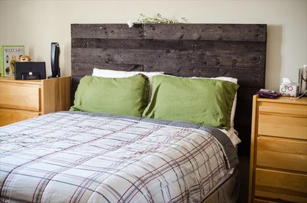 Homemade Head Board 27 diy pallet headboard ideas | guide patterns