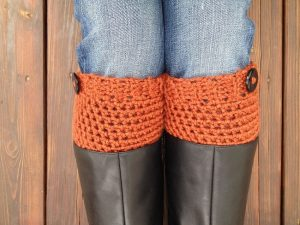 How to Crochet Boot Cuffs