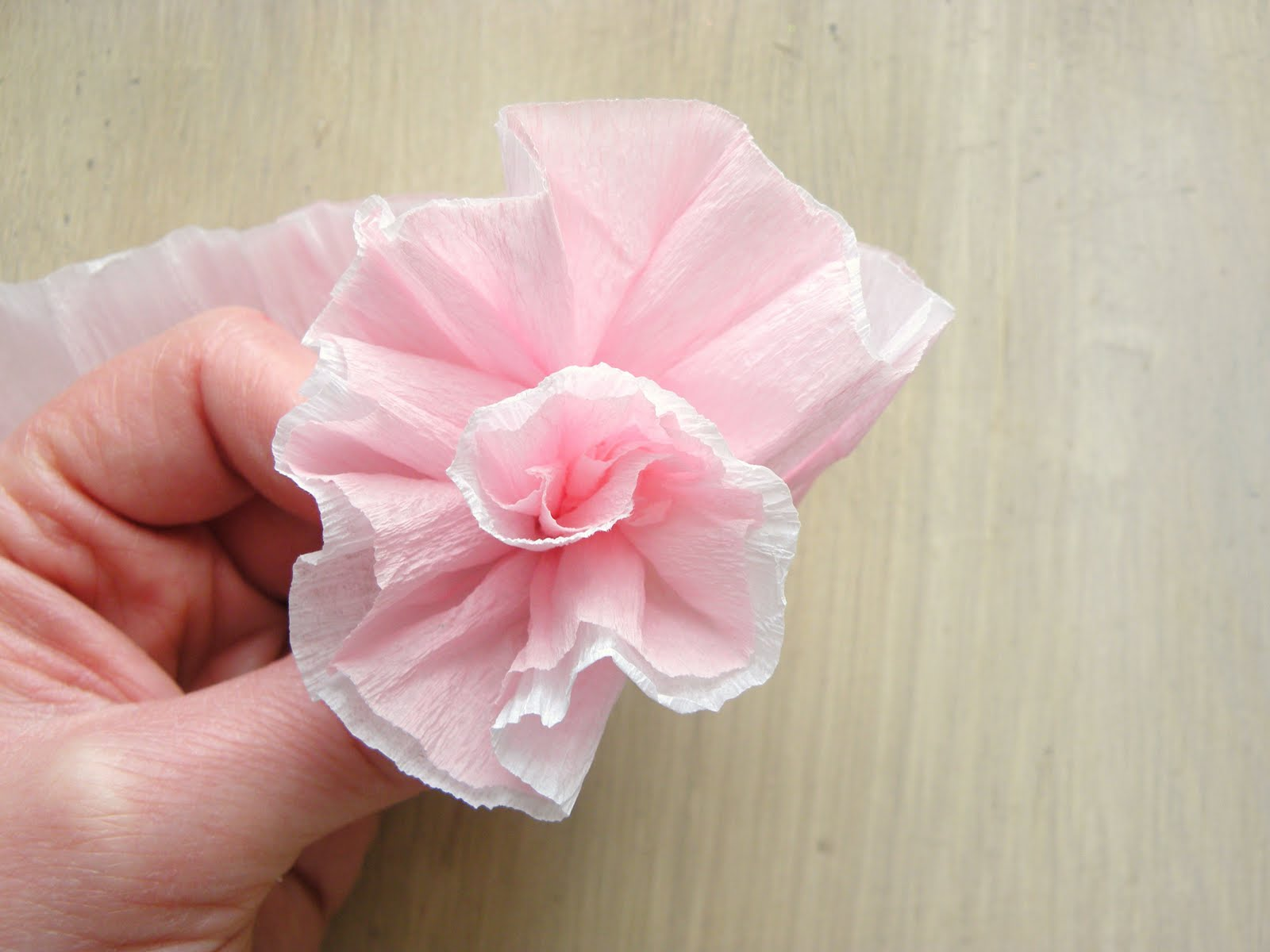 Crepe Paper Craft Tutorial