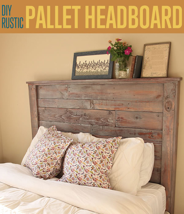 27 diy pallet headboard ideas guide patterns for Makeshift headboard