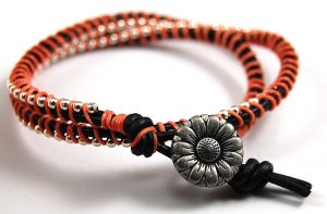 Leather Wrap Bracelet for Women