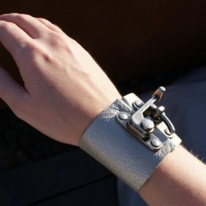 Leather Wrap Cuff Bracelet