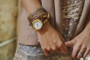 Leather Wrap Watch Bracelet