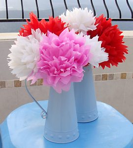 Mexican Crepe Paper Flowers