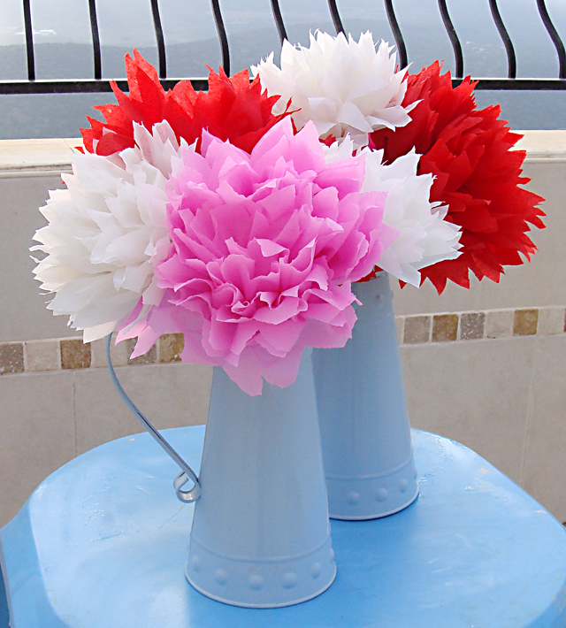 20 diy crepe paper flowers with tutorials guide patterns mexican crepe paper flowers mightylinksfo