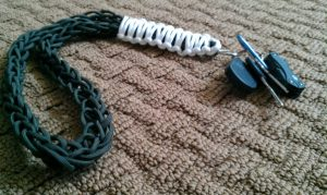 Paracord Badge Lanyard