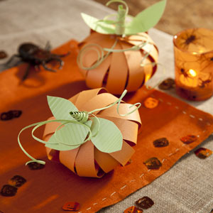 Pumpkin Paper Craft