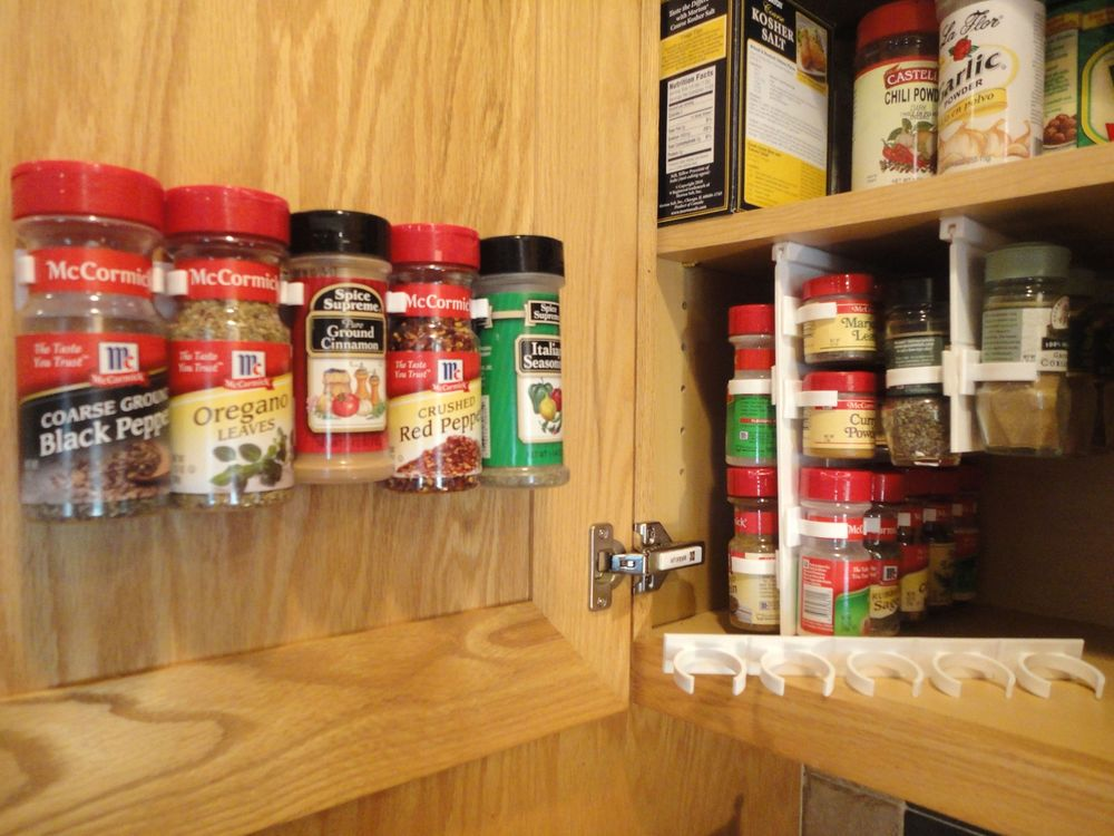 Spice Rack For Cabinet