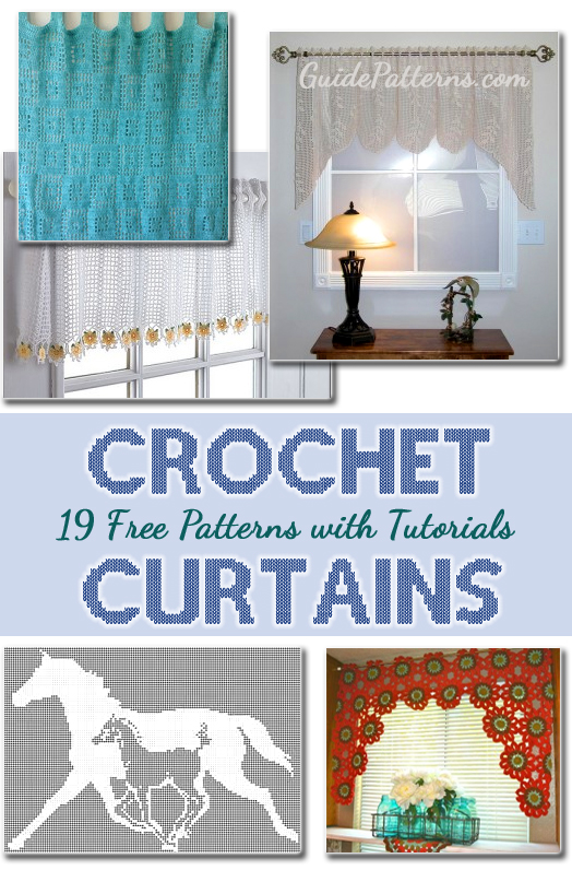19 Free Crochet Curtain Patterns