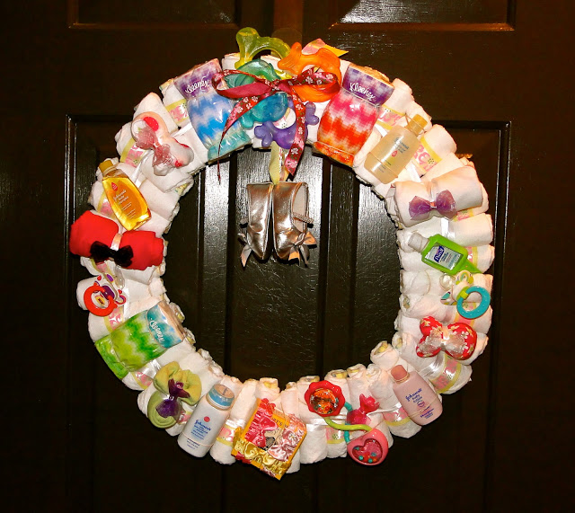 How To Make A Diaper Wreath With Instructions 30 Ways Guide Patterns