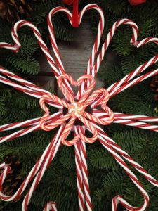 Candy Cane Wreath Tutorial