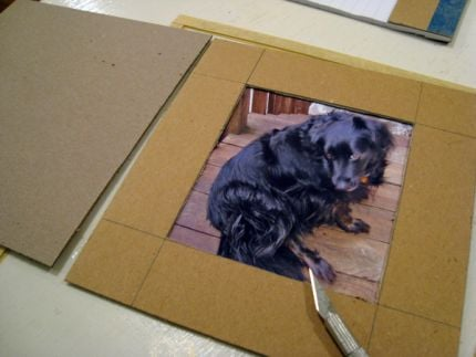 22 Diy Cardboard Picture Frames Guide Patterns