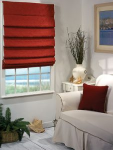 Cloth Roman Shades