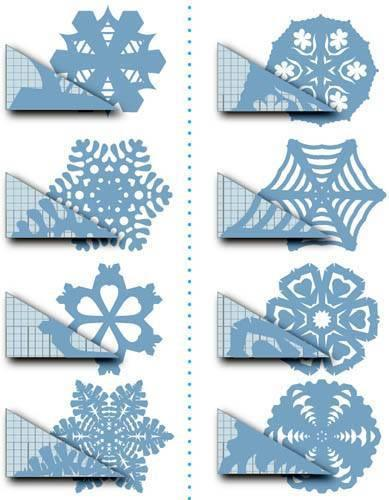 16 easy diy patterns for making coffee filter snowflakes guide