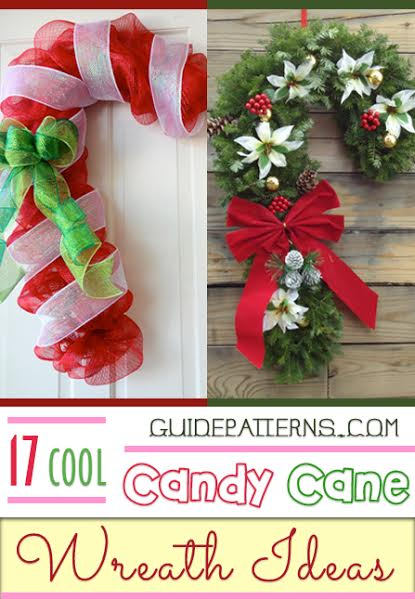 Christmas Candy Craft Ideas.17 Cool Candy Cane Wreath Ideas Guide Patterns