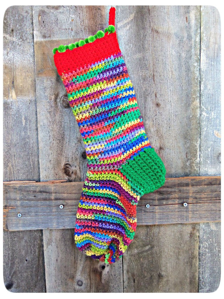 Crochet Patterns For Xmas Stockings : 20 Free Crochet Christmas Stocking Patterns Guide Patterns