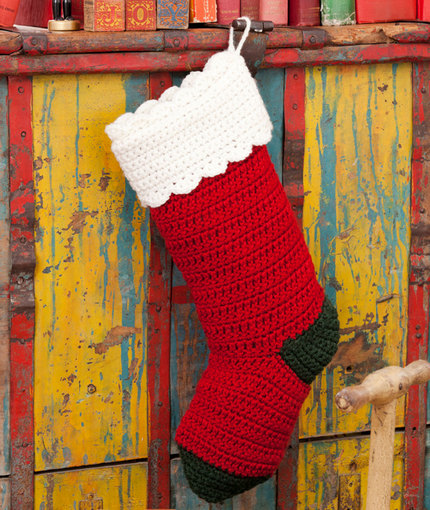 This pattern for Retro-Style Christmas Stockings is a Simply Notable fan favorite!
