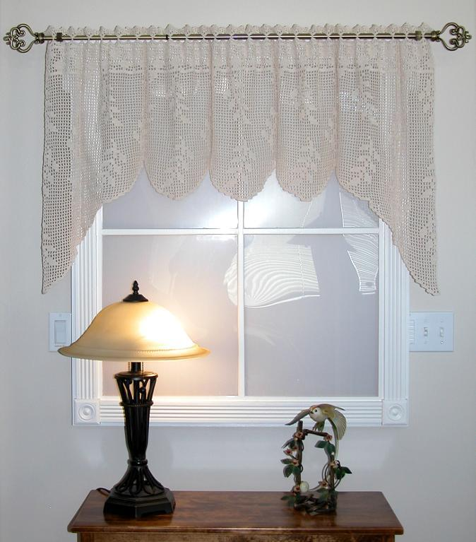 Crochet Patterns Valances : 19 Cool Patterns for Crochet Curtains Guide Patterns