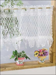 Crochet Lace Curtain