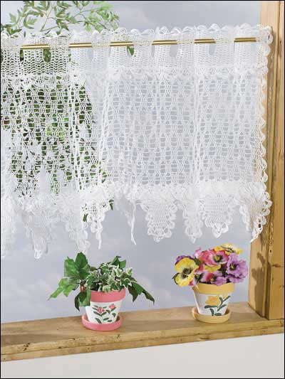 19 Cool Patterns For Crochet Curtains