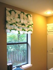 DIY Roman Shade Easy