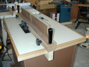 DIY Router Table Fence