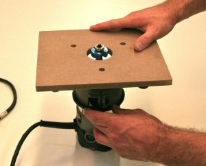DIY Router Table Insert Plate