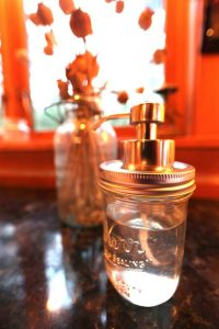 DIY Soap Dispenser Mason Jar