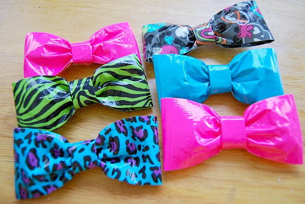 cool craft ideas for girls how to make a duct bow 18 cool ways guide patterns 6075