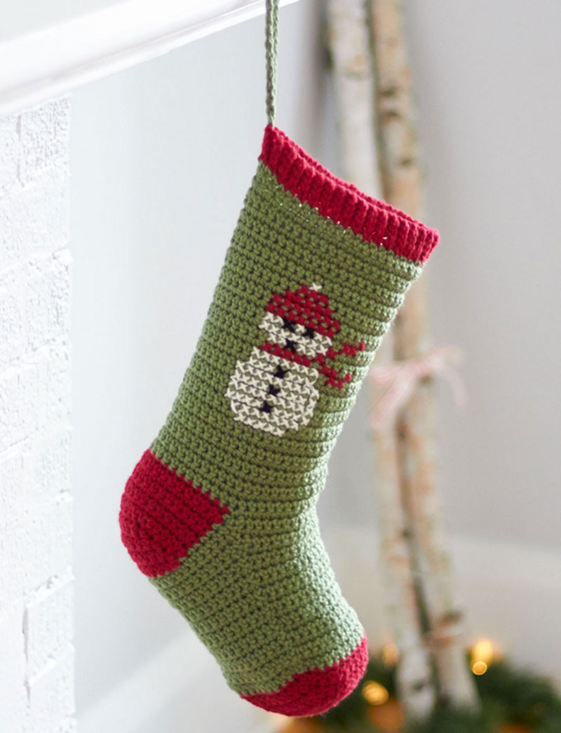 Crochet Patterns For Xmas Stockings : Pics Photos - Easy Crochet Christmas Stocking