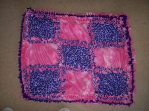 Fleece Tie Blanket Pattern