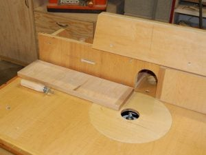 Homemade Router Table