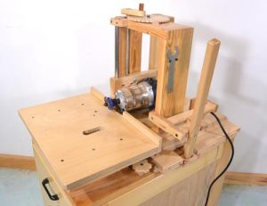 Horizontal Router Table