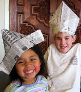 How to Make Newspaper Hats