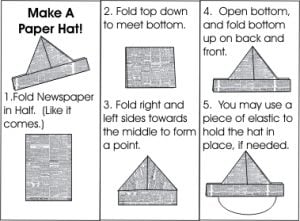How to Make a Newspaper Hat