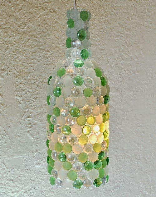 How To Make A Lamp Part - 49: How To Make A Wine Bottle Lamp