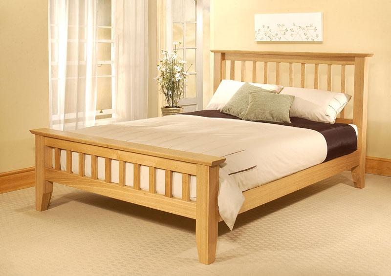 How to build a wooden bed frame 22 interesting ways for Simple bed designs