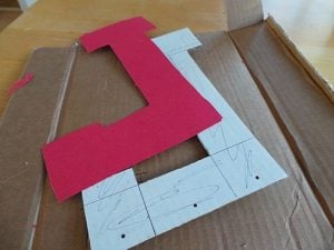 Large Cardboard Craft Letters