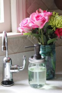 Mason Jar Hand Soap Dispenser