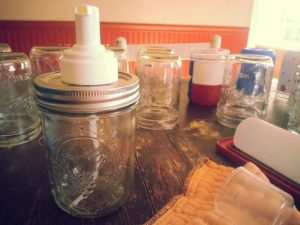 Mason Jar Pump Lid