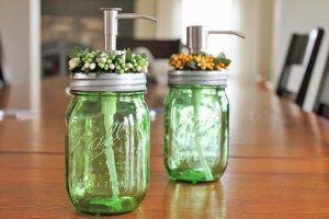 Mason Jars Soap Dispensers
