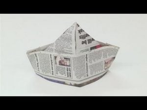 Newspaper Boy Hat