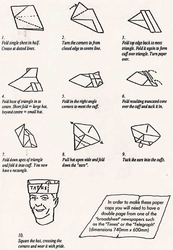 21 Creative Ways to Make a Hat Out of a Newspaper | Guide Patterns