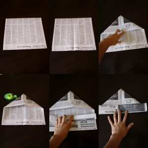 Newspaper Hat Tutorial