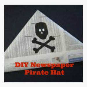 Newspaper Pirate Hat