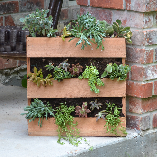 25 Easy DIY Plans and Ideas for Making a Wood Pallet Planter | Guide Garden Planters Out Of Recycled Materials on recycled garden borders, recycled garden furniture, recycled tire garden, recycled garden projects, recycled raised garden beds, recycled bottle garden, recycled stepping stones, recycled rust in garden, recycled garden art, recycled garden containers, recycled materials pallet garden bed, recycled stone edging, recycled disney animation, recycled garden ideas, recycled garden pots, recycled garden gates, recycled paper crafts, recycled garden decor, recycled garden sculpture, recycled garden items,