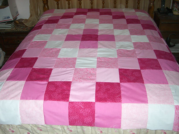 How to make patchwork quilts 24 creative patterns guide for How to make a quilt template