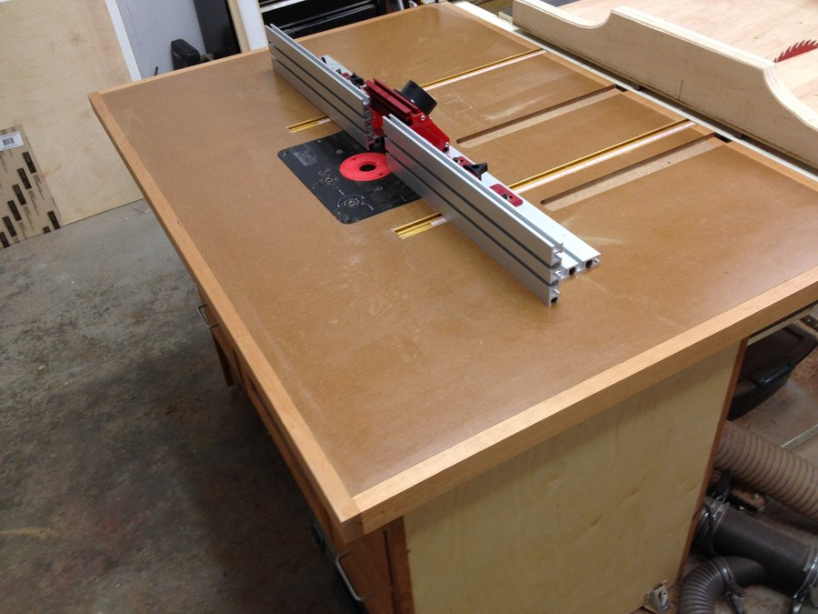 Image Result For Table Saw Outfeed