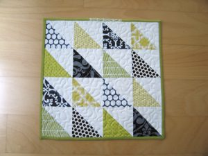 Simple Patchwork Quilt Pattern